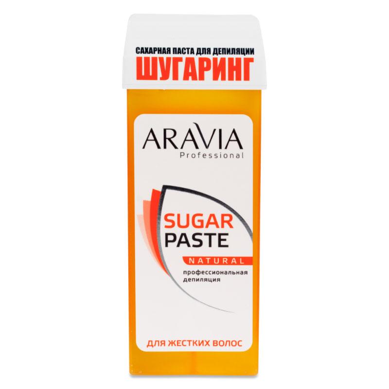 Домашний шугаринг Aravia Professional Сахарная паста Натуральная мягкая 150гр 1012