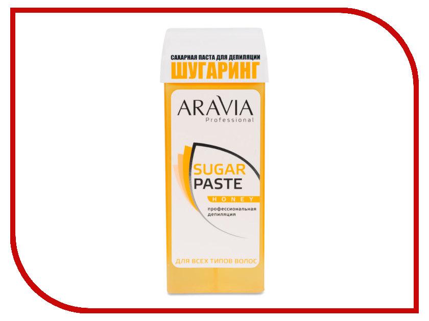 Домашний шугаринг Aravia Professional Сахарная паста Медовая очень мягкая 150гр 1011