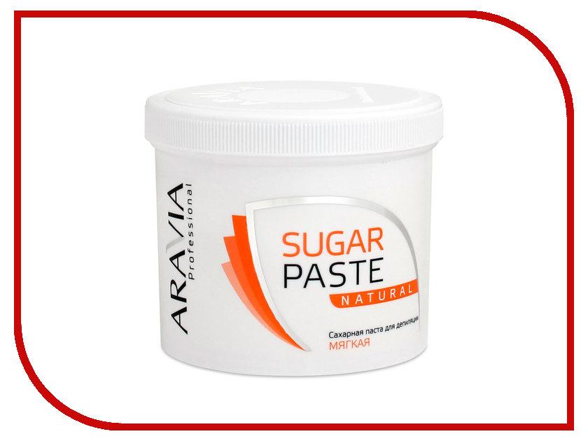 Домашний шугаринг Aravia Professional Сахарная паста Натуральная мягкая 750гр 1018 домашний шугаринг start epil паста для депиляции универсальная 400гр 2024