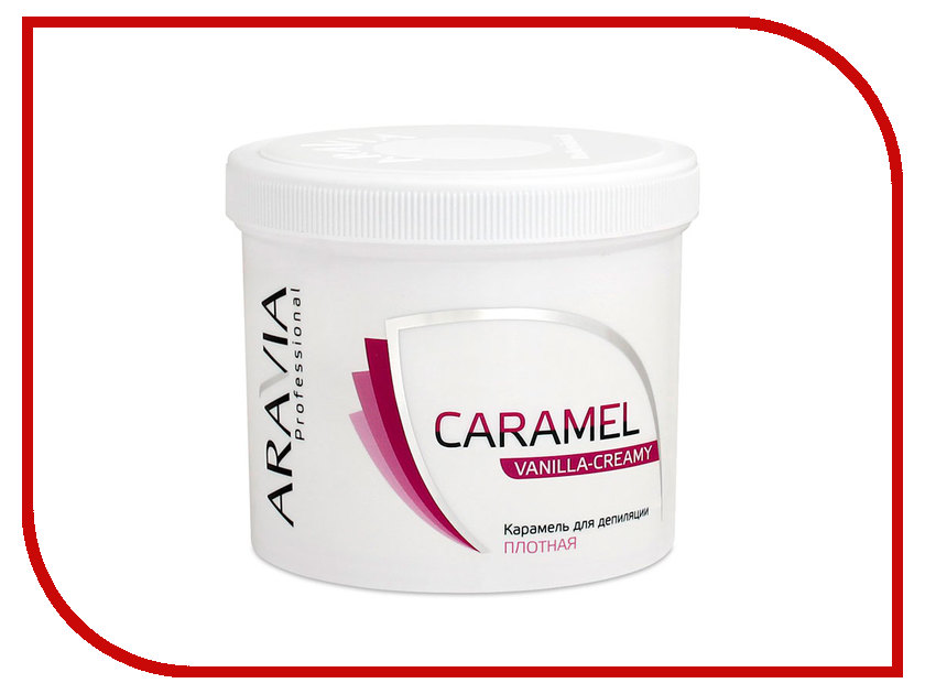 Домашний шугаринг Aravia Professional Карамель Ванильно-сливочная 750гр 1013 протеин fuze сreatine сливочная карамель 750 г