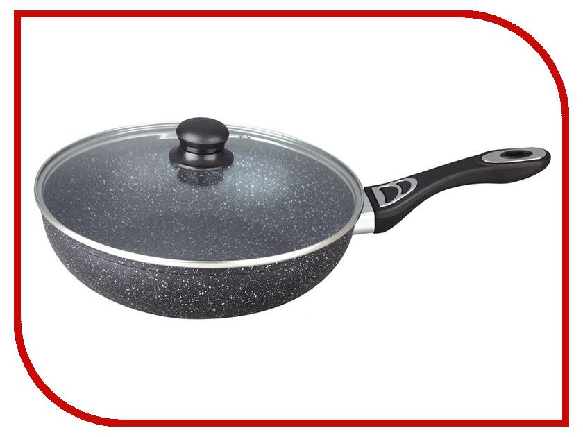 Сковорода Bekker BK-3798 Schwarzmarbel 28cm 3.9L