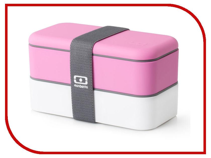 Ланч-бокс Monbento MB Original Pink 1200 02 106 ланч бокс monbento mb original litchi 1200 12 106