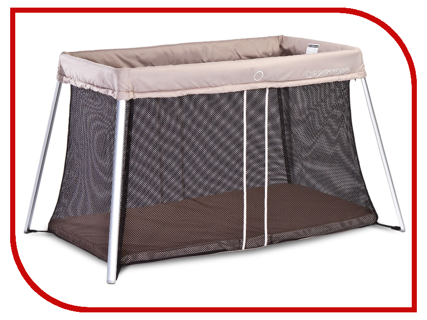 Манеж-кровать Caretero Easy Beige