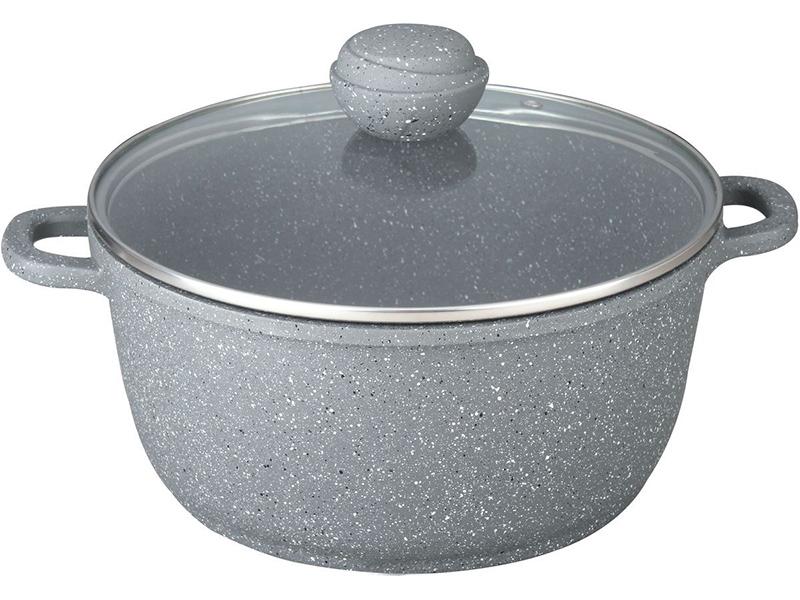 Кастрюля Bekker Silver Marble 4.3L BK-3815
