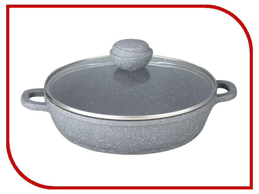 Сковорода Bekker 28cm Silver Marble BK-3802 сковорода d 22 см со съемной ручкой bekker grey marble bk 3788