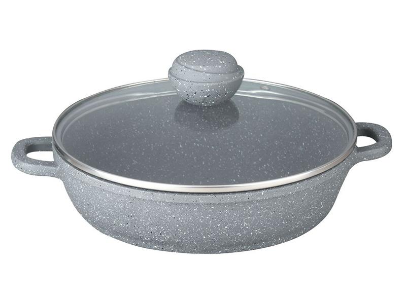 Сковорода Bekker 28cm Silver Marble BK-3802 цена