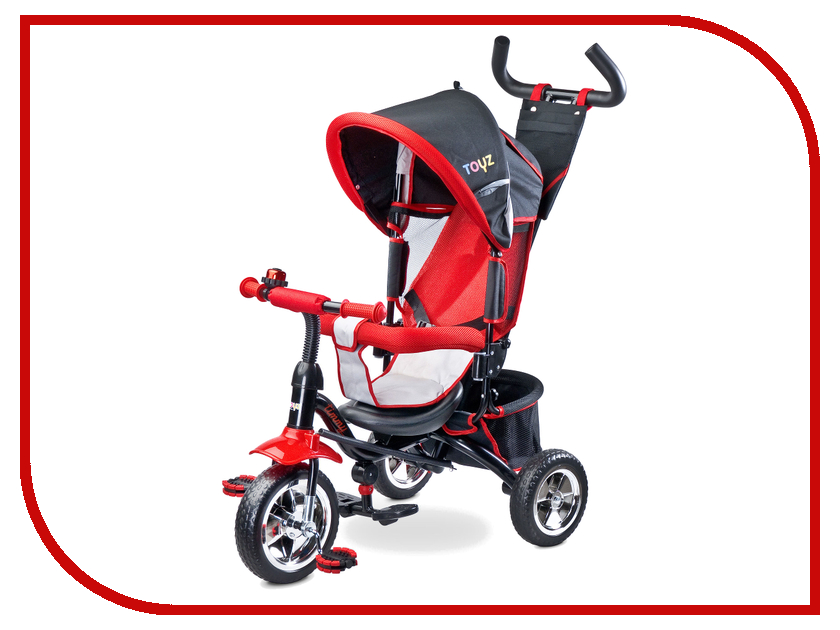Коляска-велосипед Caretero Toyz Timmy Red