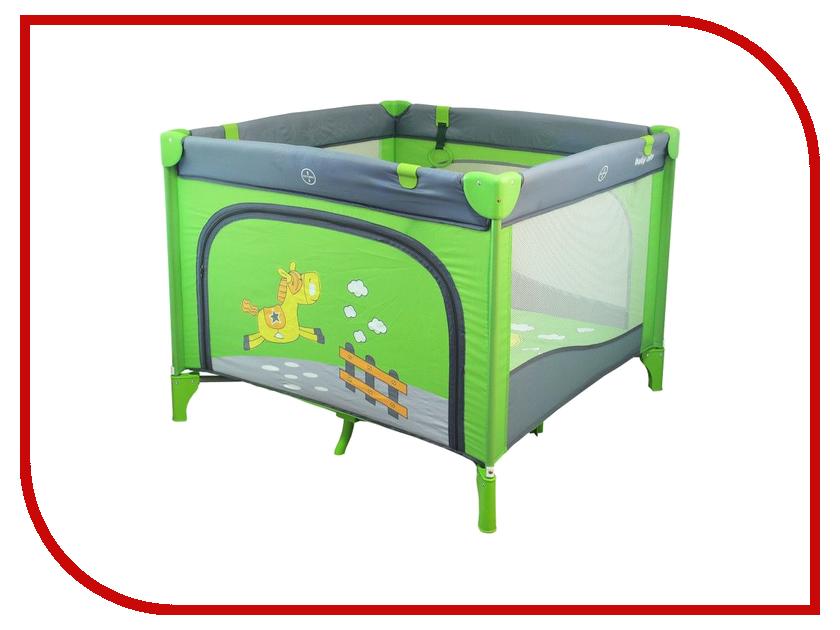 Манеж-кровать Baby Mix Larry Green