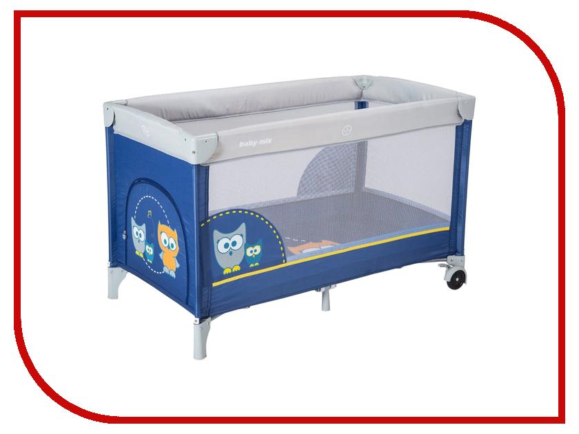 Манеж-кровать Baby Mix Sowa Navy