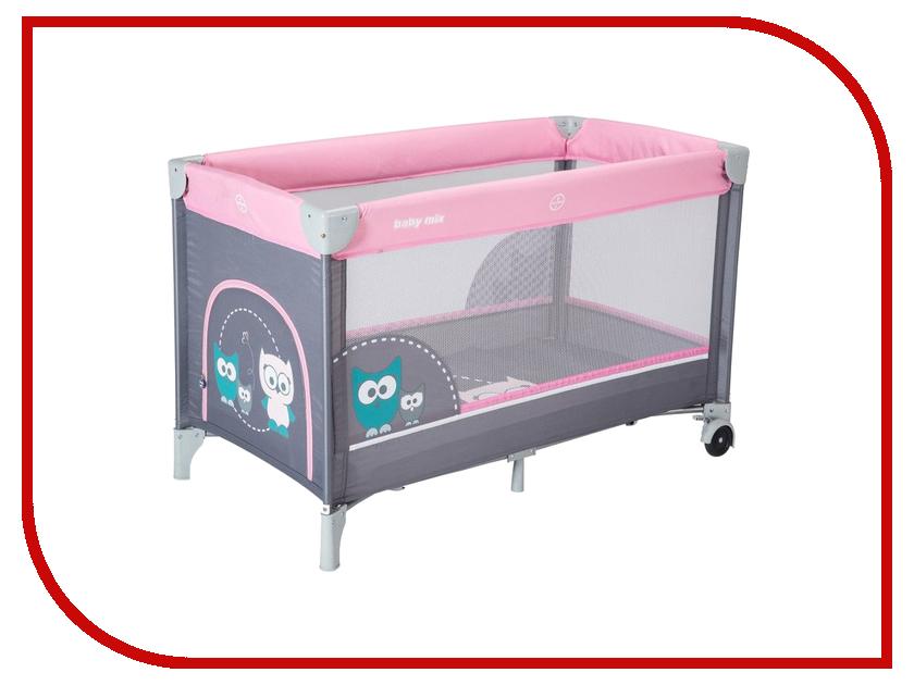 Манеж-кровать Baby Mix Sowa Rose