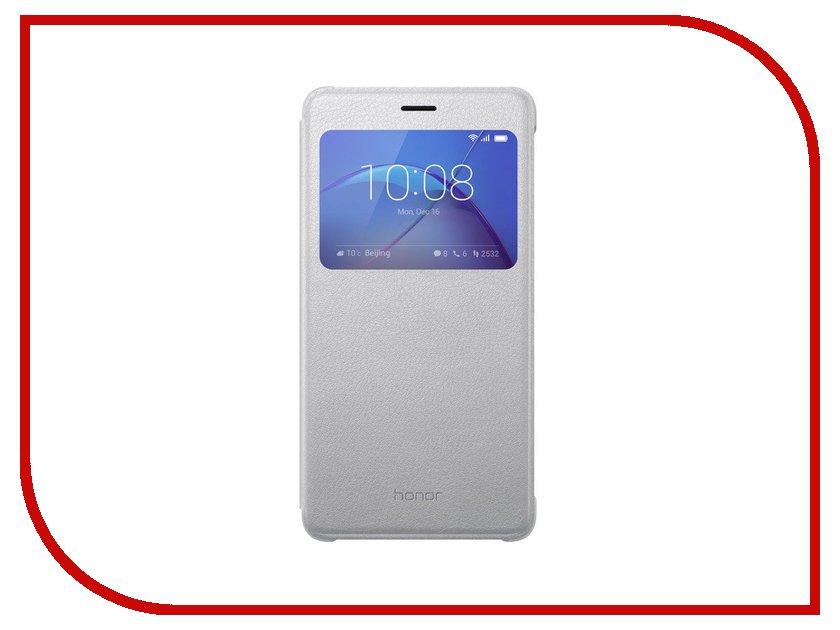 Аксессуар Чехол Huawei Honor 6X Smart Silver 51991741 смартфон huawei honor 6x 32 гб