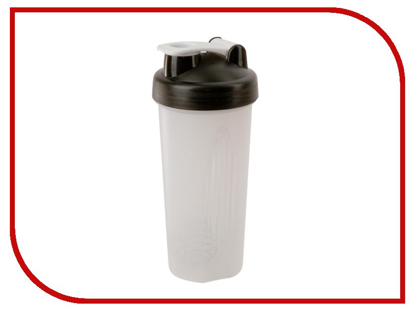 Шейкер Спортивный Элемент S01-600 600ml White Transparent-Black-White