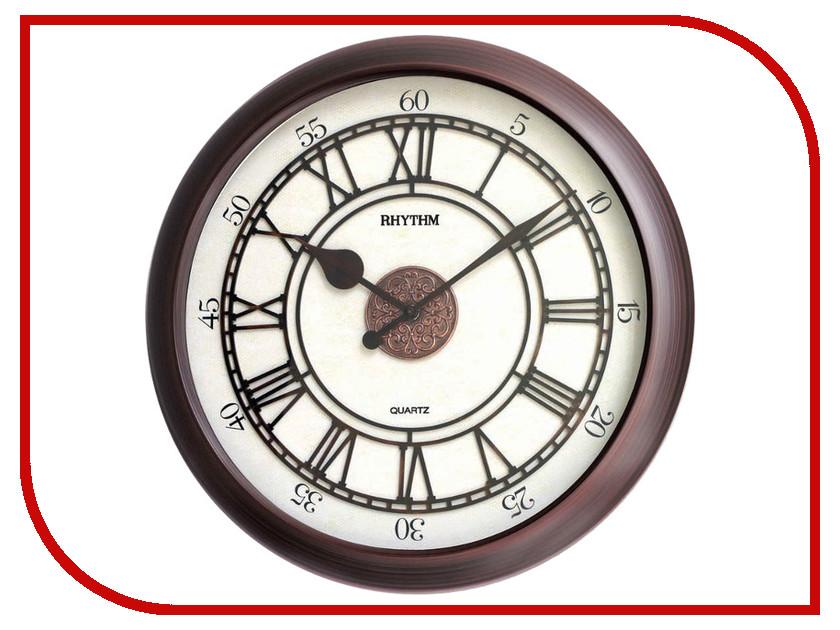 Часы RHYTHM CMG743NR06 rhythm настенные часы rhythm cmg743nr06 коллекция century
