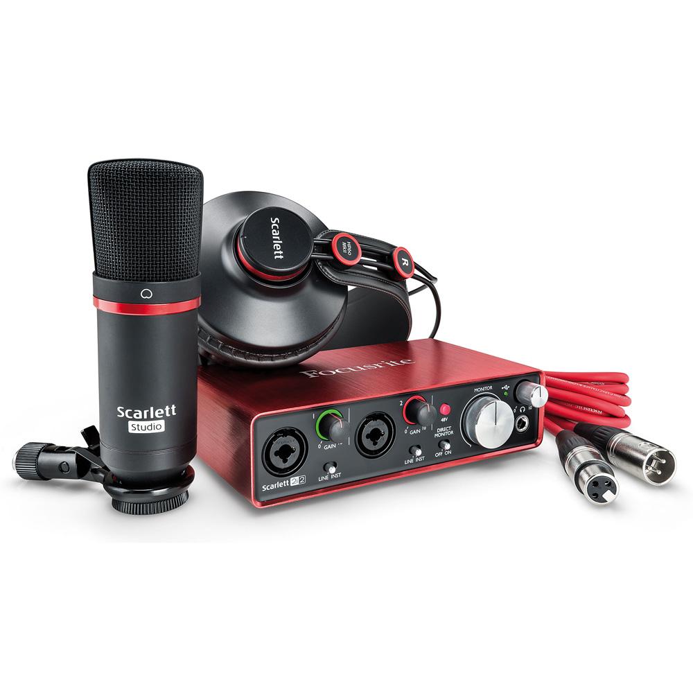 Комплект для звукозаписи Focusrite Scarlett Studio 2nd Gen цена