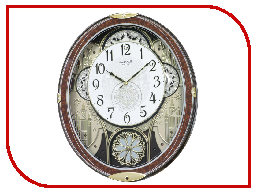 Часы RHYTHM 4MH856WD23 wd 23 4 свеча аром янтарь и мирра