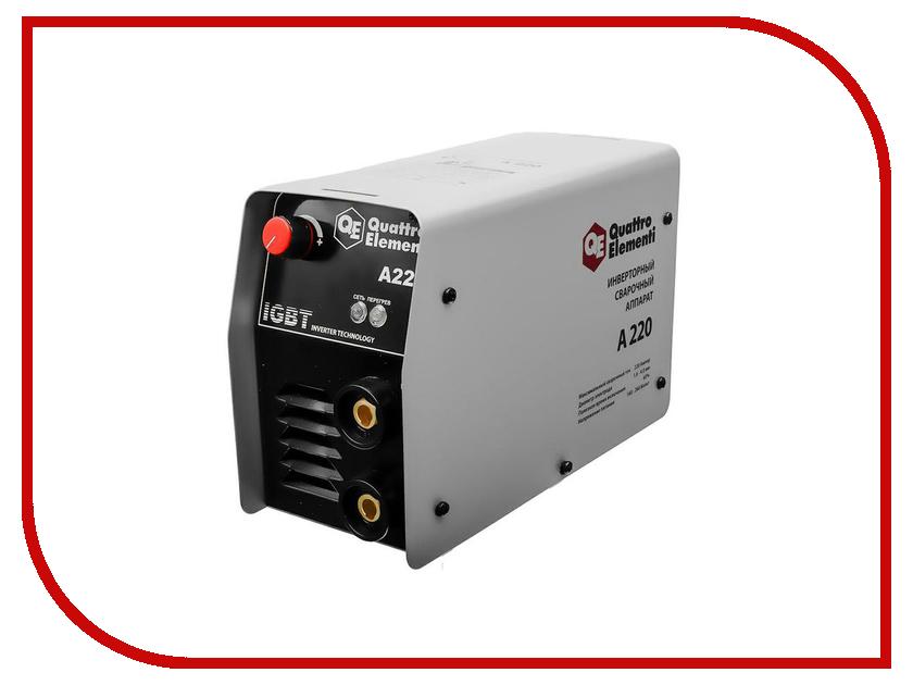 Сварочный аппарат Quattro Elementi A 220 248-535 мойка высокого давления quattro elementi