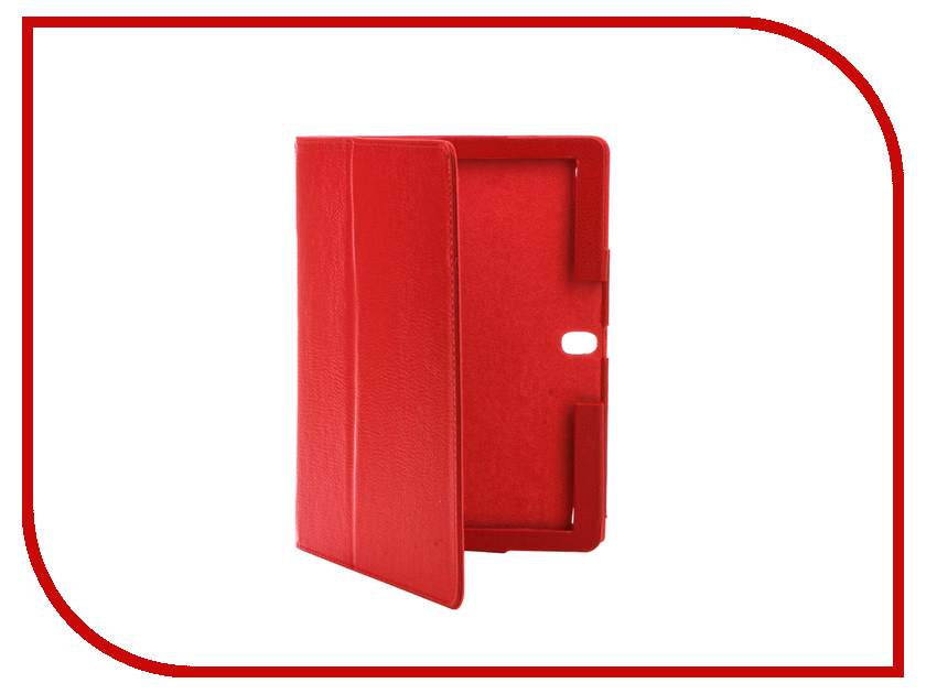 Аксессуар Чехол Lenovo Tab 2 10.0 A10-30 IT Baggage иск. кожа Red ITLN2A103-3
