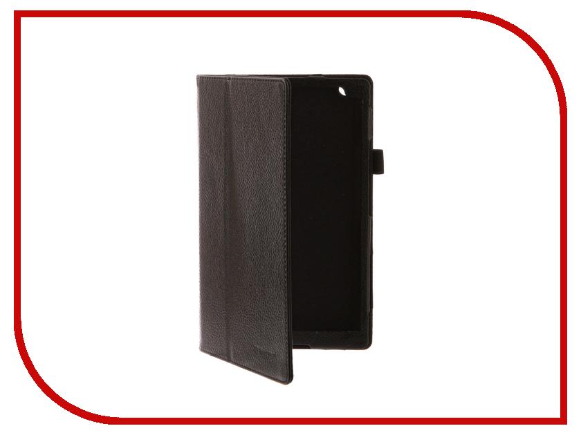 Аксессуар Чехол Lenovo Tab 4 8.0 TB-8504X /TB-8504F IT Baggage Black ITLNT48-1 чехол для asus zenpad z580c z580ca it baggage эко кожа черный