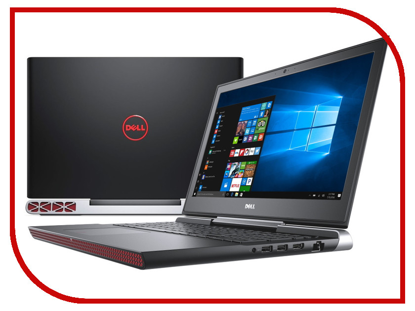 Ноутбук Dell Inspiron 7567 7567-2001 (Intel Core i5-7300HQ 2.5 GHz/8192Mb/256Gb SSD/nVidia GeForce GTX 1050 4096Mb/Wi-Fi/Bluetooth/Cam/15.6/1920x1080/Windows 10 64-bit) банка для сыпучих продуктов polystar орнамент 600 мл l2520328