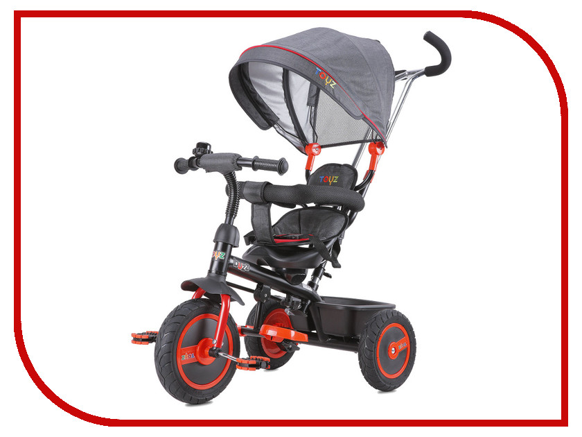 Коляска-велосипед Caretero Toyz Buzz Red