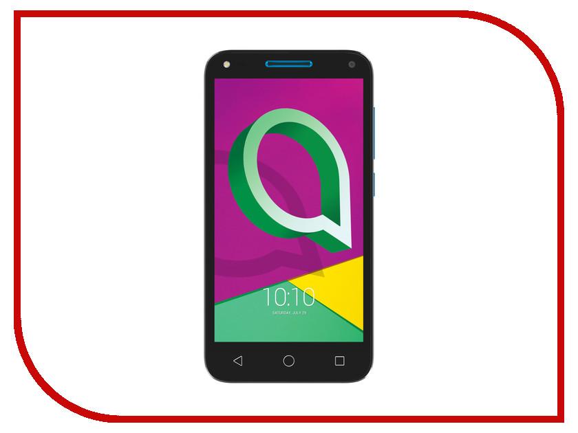 Сотовый телефон Alcatel 4047D U5 3G Sharp Blue умные часы alcatel sw10 blue red