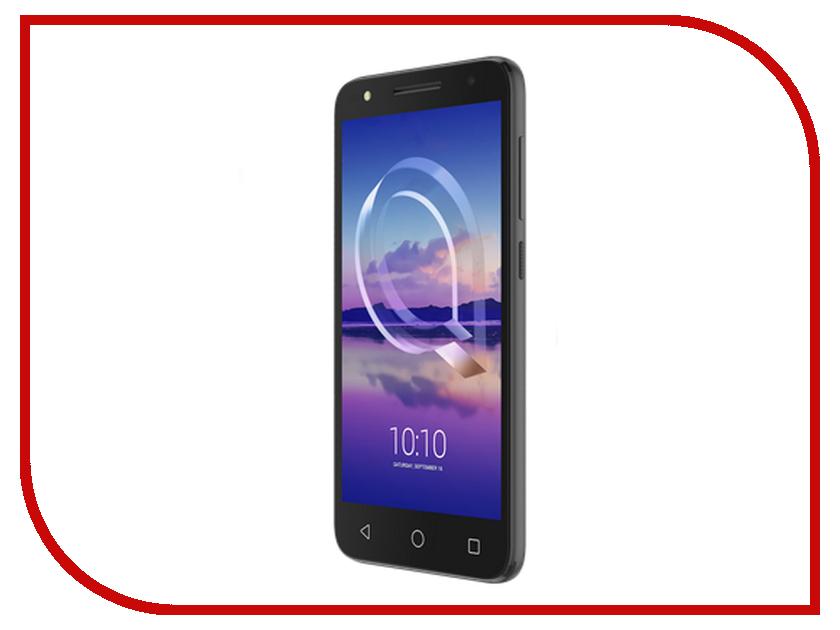 Сотовый телефон Alcatel 5047D U5 HD Volcano Black мобильный телефон alcatel ot1020d 2sim volcano black