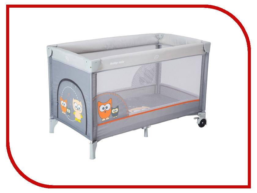 Манеж-кровать Baby Mix Sowa Grey