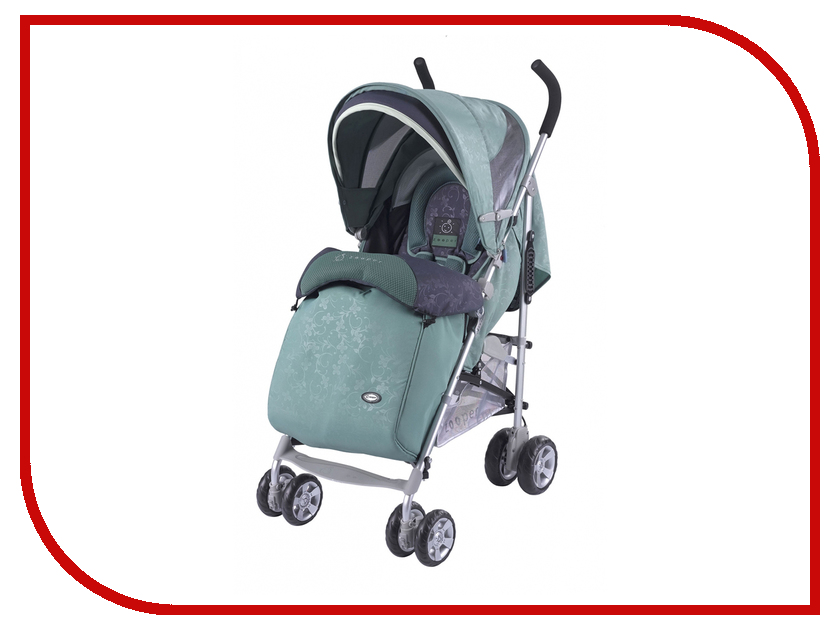 Коляска Zooper Twist Smart + Kit Tealberry 108057751 прогулочные коляски zooper z9 rich