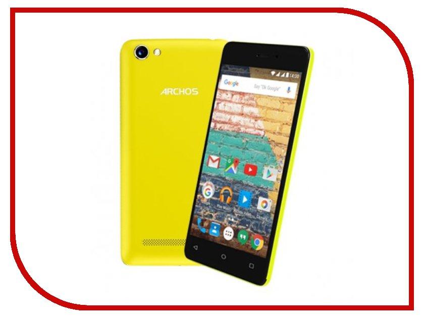 все цены на  Сотовый телефон Archos 45d Platinum Black-Yellow  онлайн
