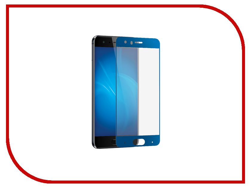 Аксессуар Защитное стекло для Huawei Honor 9 Mobius 3D Full Cover Blue moskii brand ultra thin pc shield case cover for huawei honor 4x