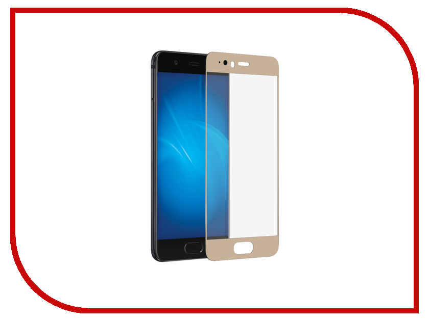 Аксессуар Защитное стекло Huawei Honor P10 Mobius 3D Full Cover Gold аксессуар защитное стекло samsung galaxy j5 prime mobius 3d full cover black