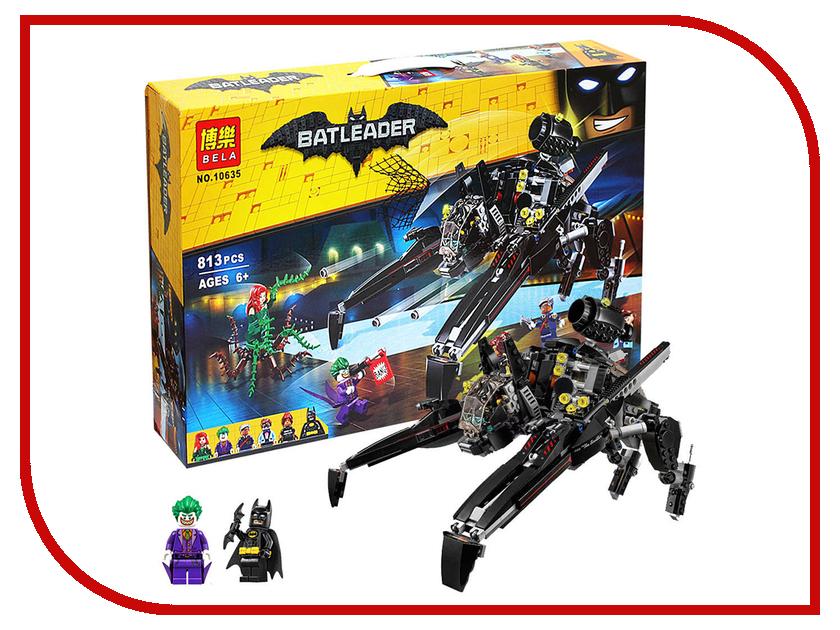 Конструктор Bela Batman Бэтмен Скатлер 813 дет. 10635 конструктор bela disney ледяной замок эльзы 297 дет 10435