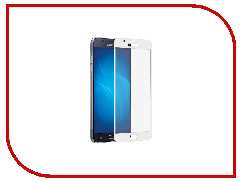 Аксессуар Защитное стекло Samsung Galaxy J5 2017 CaseGuru Full Screen 0.33mm White аксессуар защитное стекло samsung g920f galaxy s6 caseguru 0 33mm