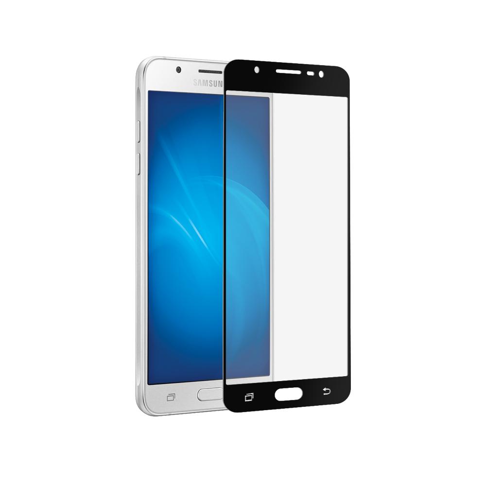 цена на Аксессуар Защитное стекло для Samsung Galaxy J7 2017 CaseGuru Full Screen 0.33mm Black