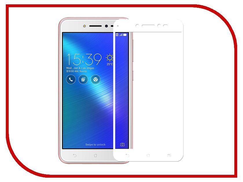 Аксессуар Защитное стекло ASUS ZenFone Live ZB501KL CaseGuru Full Screen 0.33mm White аксессуар защитная пленка asus zenfone live zb553kl luxcase суперпрозрачная 55823