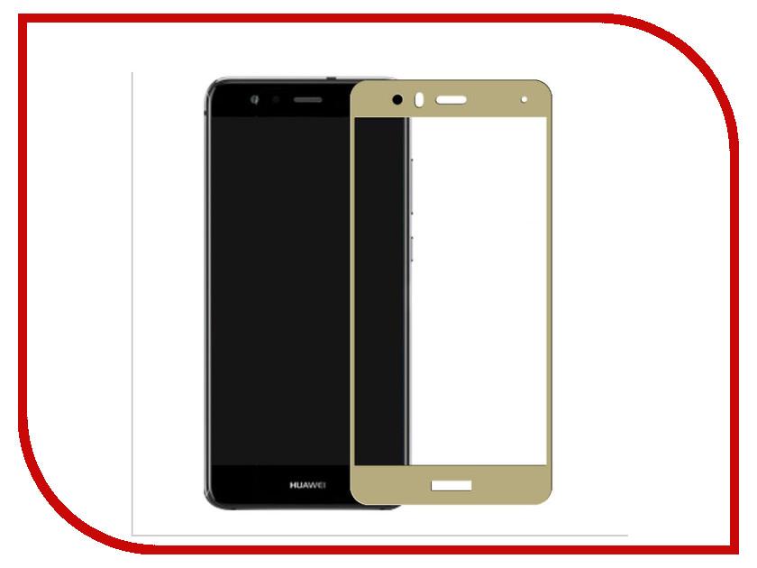 Аксессуар Защитное стекло Huawei P10 Lite CaseGuru Full Screen 0.33mm Gold caseguru для samsung galaxy s7 full screen gold