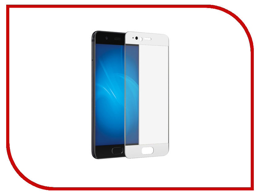 Аксессуар Защитное стекло Huawei P10 Lite CaseGuru Full Screen 0.33mm White huawei e3372h 153 white