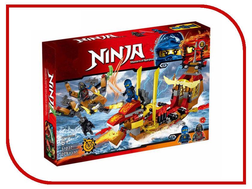 Конструктор Lele Ниндзя Корабль 279 дет. 31037 конструктор bela ninja ниндзя сверхзвуковой рейдер 645 дет 31041