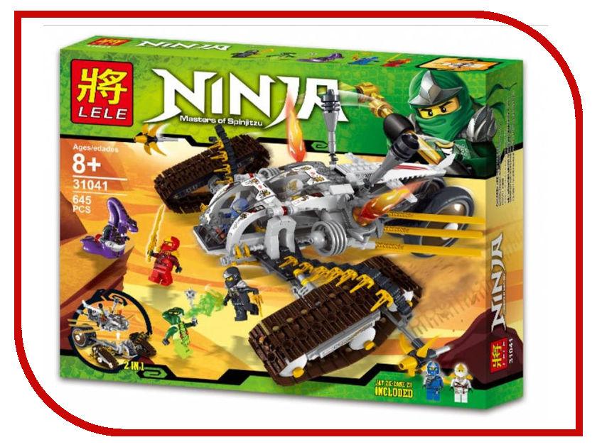 Конструктор Bela Ninja Ниндзя Сверхзвуковой Рейдер 645 дет. 31041 конструктор bela ninja ниндзя сверхзвуковой рейдер 645 дет 31041