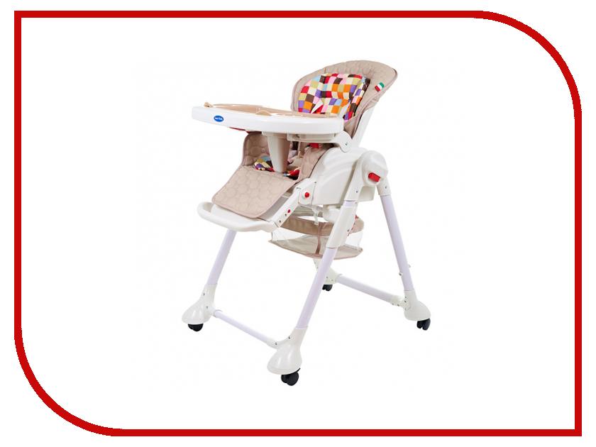 Стул Sweet Baby Luxor Multicolor Beige sweet baby стульчик для кормления luxor classic arancione