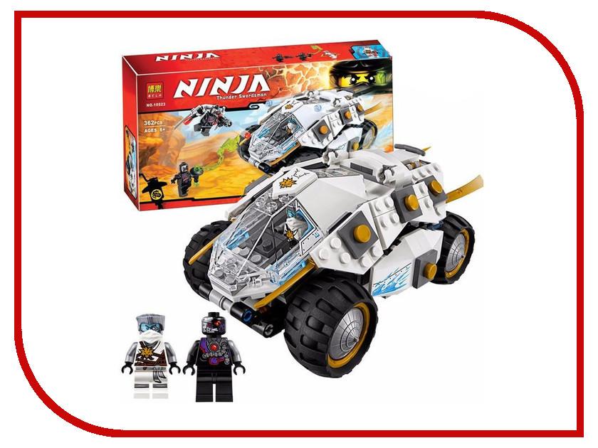 Конструктор Bela Ninjago Титановый Вездеход 362 дет. 10523 конструктор bela disney ледяной замок эльзы 297 дет 10435
