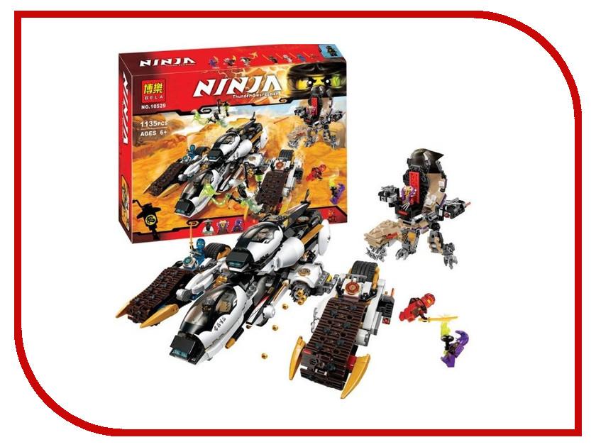 Конструктор Bela Ninjago Ультра Рейдер-Невидимка 1135 дет. 10529 конструктор bela ninja ниндзя сверхзвуковой рейдер 645 дет 31041