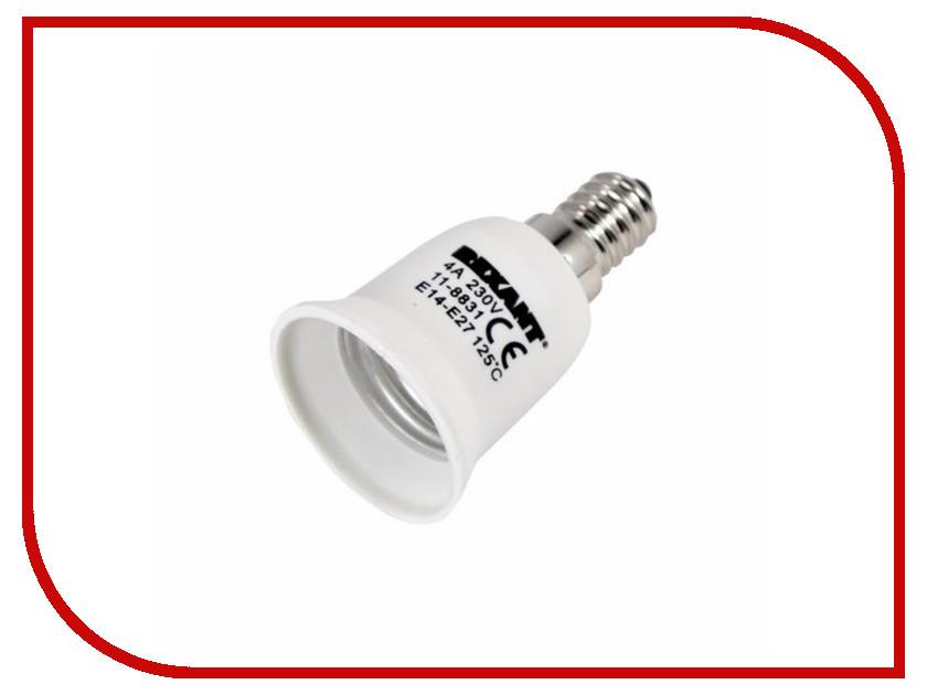 Переходник цокольный Rexant E14-E27 11-8831-9 стоимость