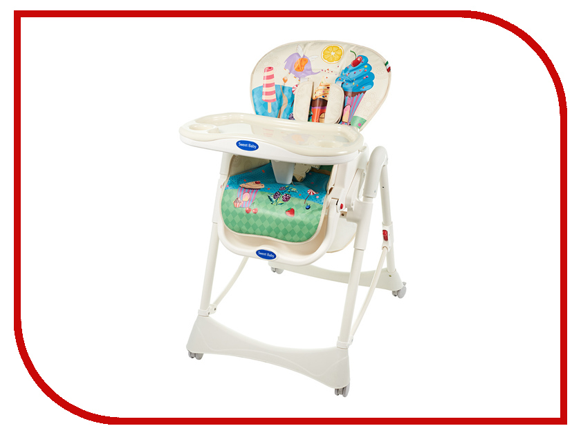 Стул Sweet Baby Candy Land прогулочная коляска sweet baby combina tutto сetriolo sweet baby