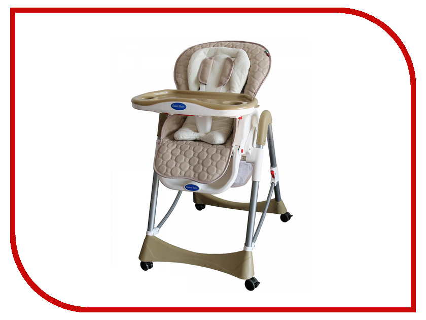 Стул Sweet Baby Royal Classic Beige коляска отзывы sweet baby mamma mia