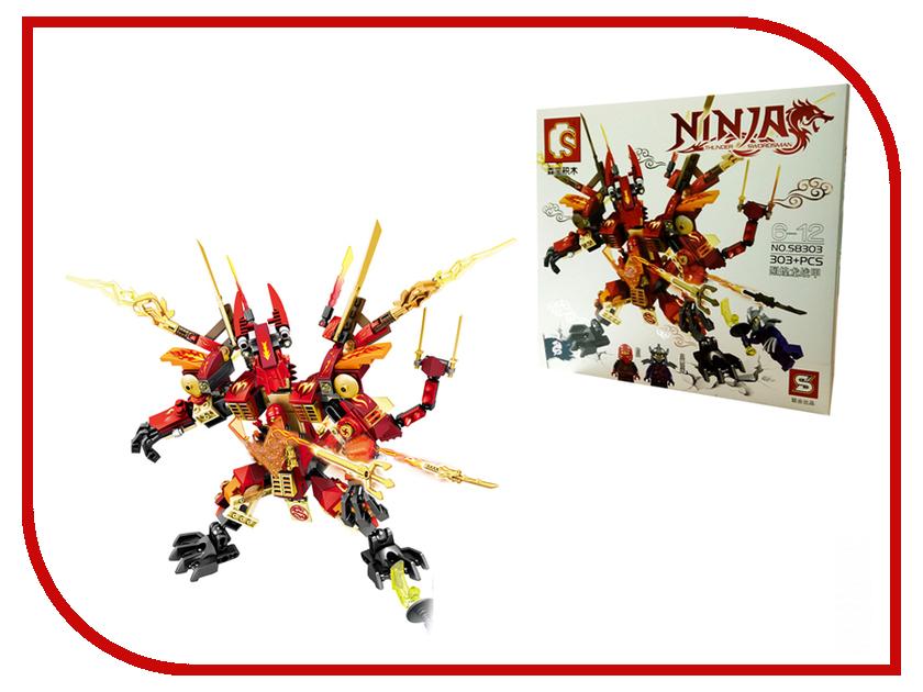 Конструктор SY Ниндзяго Красный Робот S8303