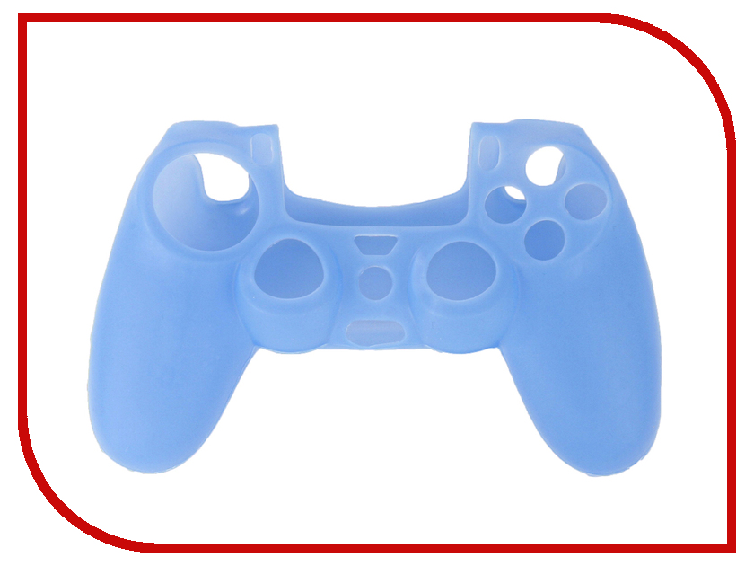 Чехол Apres Silicone Case Cover for PS4 Dualshock Blue tork ps ps4