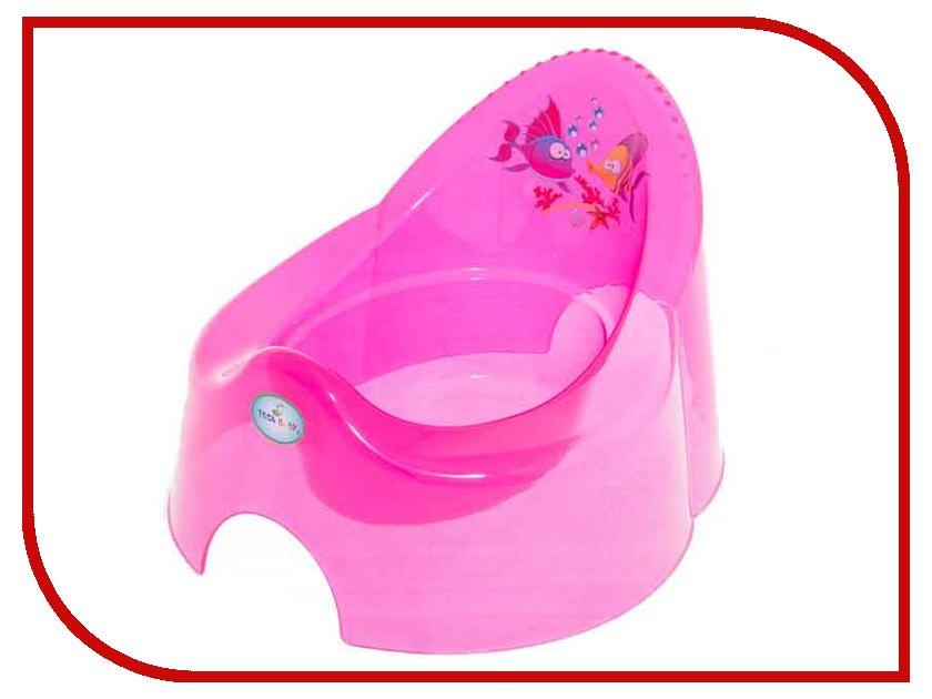 Горшок TEGA Кролики Pink KR-001