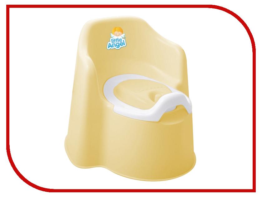 Горшок Little Angel Littie King с крышкой Yellow Pastel LA2703ЖТ la pastel 3 30 30