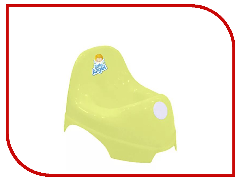 Горшок Little Angel LA2700ЖТ Yellow